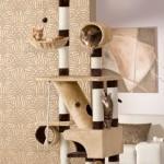 xxl kratzbaum deckenspanner f r gro e stubentiger f r. Black Bedroom Furniture Sets. Home Design Ideas