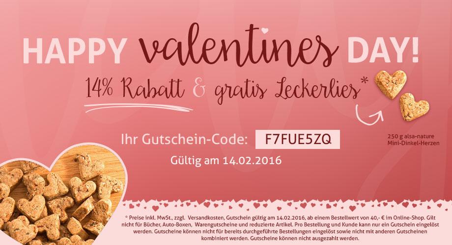 Valentinstag 2016 Alle Aktion Von Zooplus Fressnapf Sandras