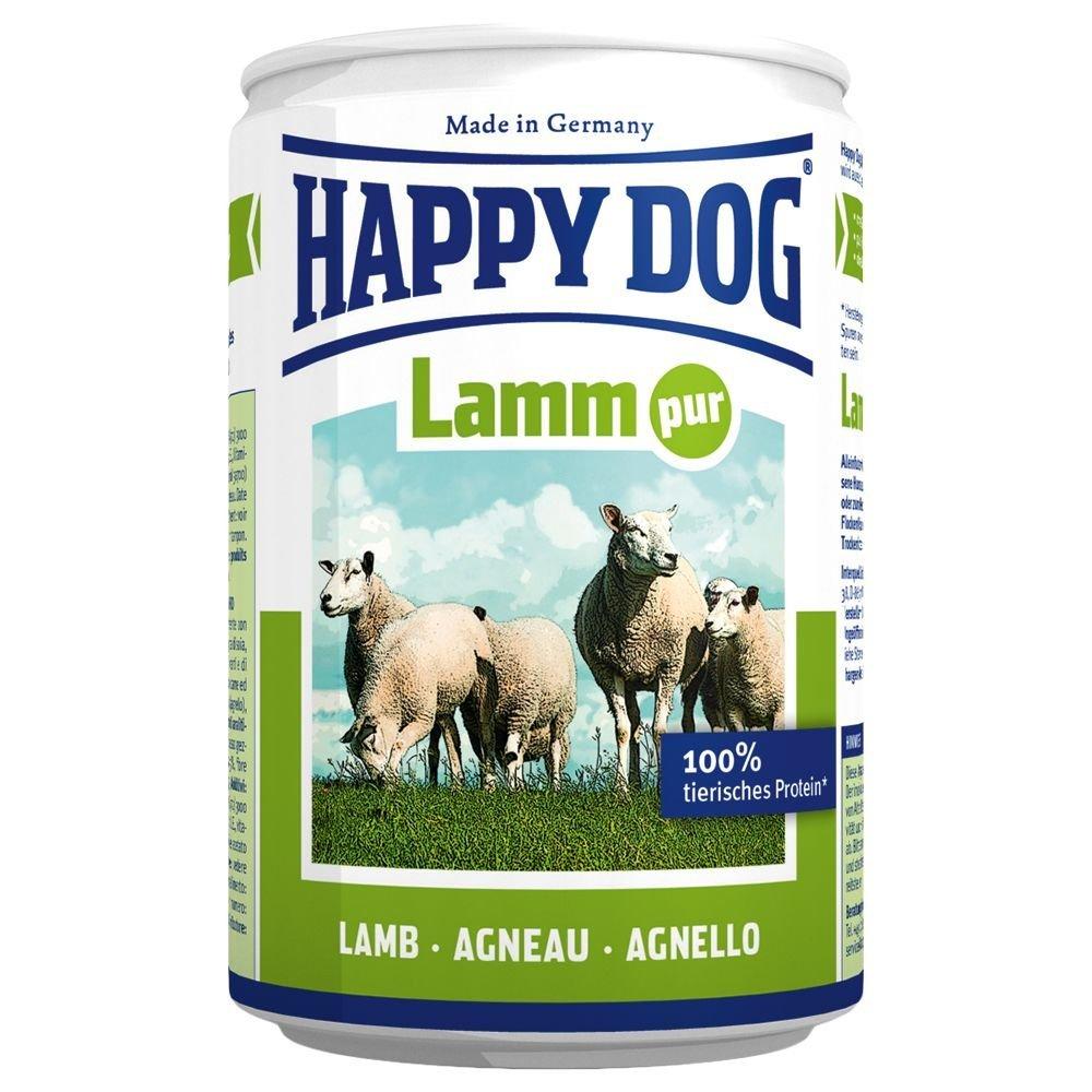 preisfehler 12 x 400 g happy dog hundefutter lamm pur erg nzungsfutter f r 7 19. Black Bedroom Furniture Sets. Home Design Ideas