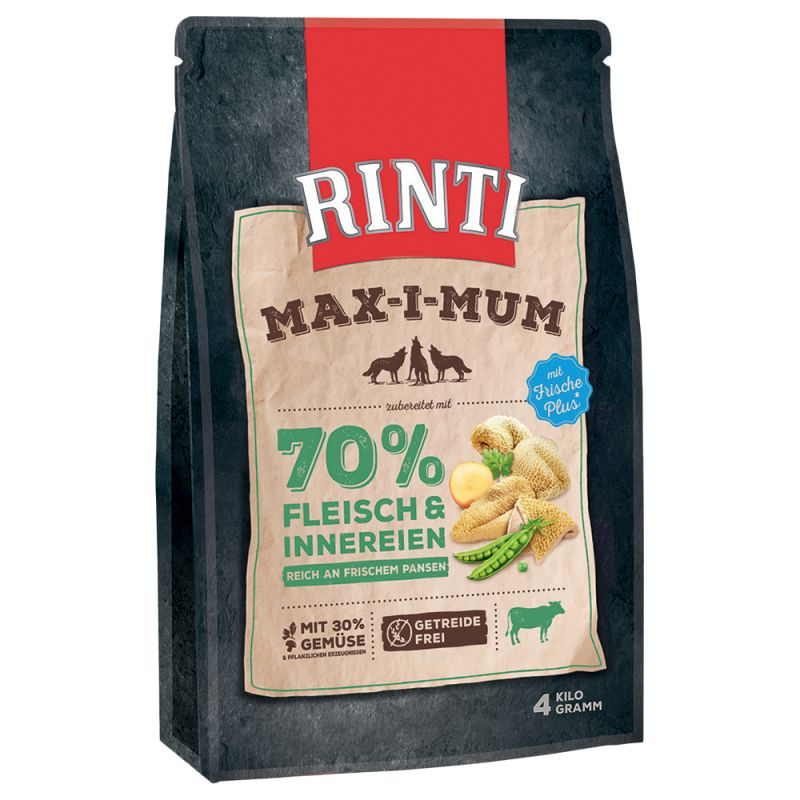 zooplus gratisartikel 500 g rinti maximum pansen trockenfutter f r erwachsene hunde f r 0 00. Black Bedroom Furniture Sets. Home Design Ideas