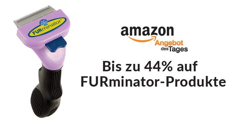 amazon angebot des tages bis zu 44 prozent auf furminator. Black Bedroom Furniture Sets. Home Design Ideas