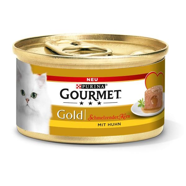9 3 gratis auf gourmet gold schmelzender kern mit huhn oder mit thunfisch 12 x 85 g f r 3 74. Black Bedroom Furniture Sets. Home Design Ideas