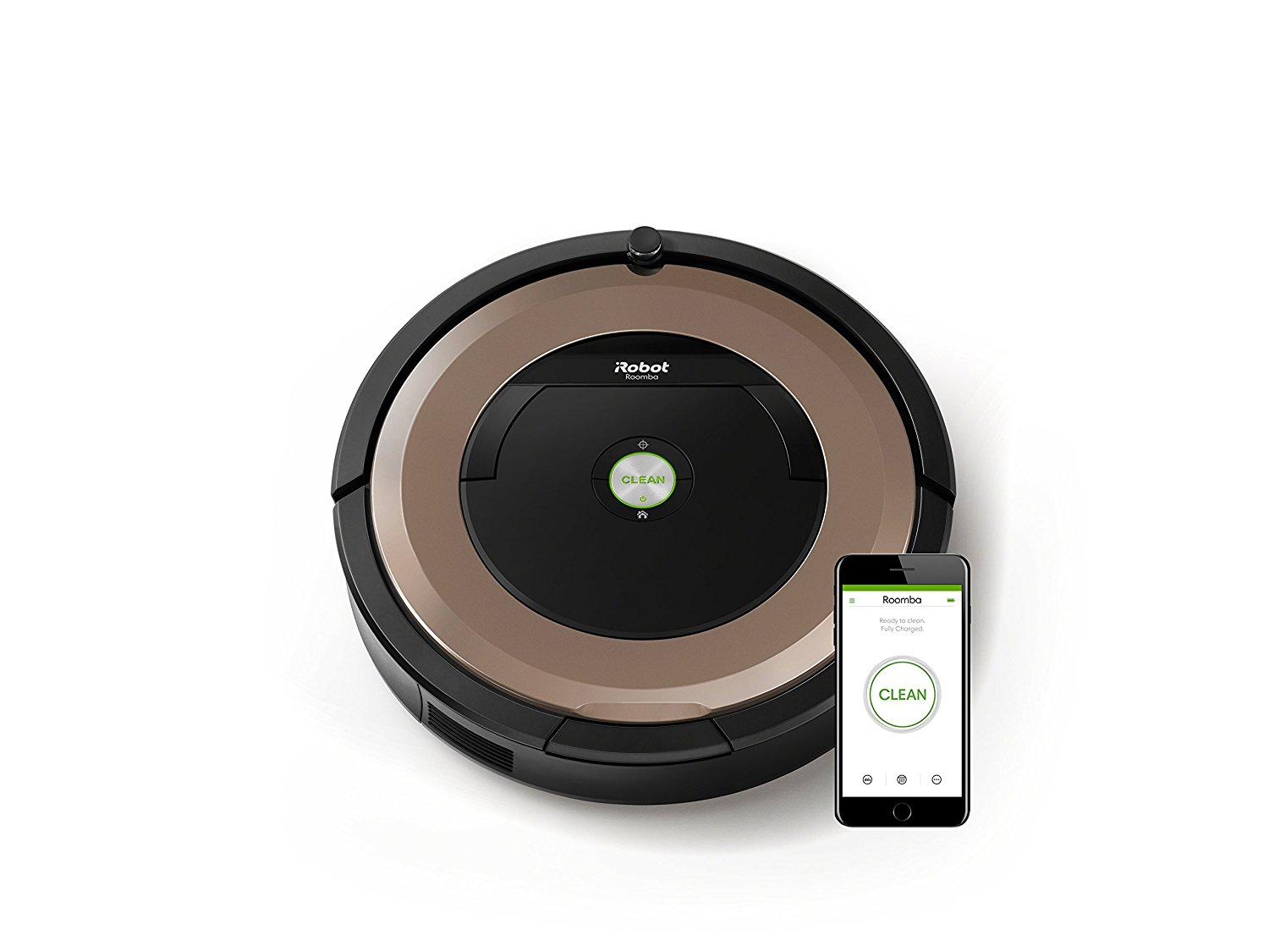 irobot roomba 895 saugroboter f r alle hartb den und teppiche ideal bei tierhaaren wlan f hig. Black Bedroom Furniture Sets. Home Design Ideas