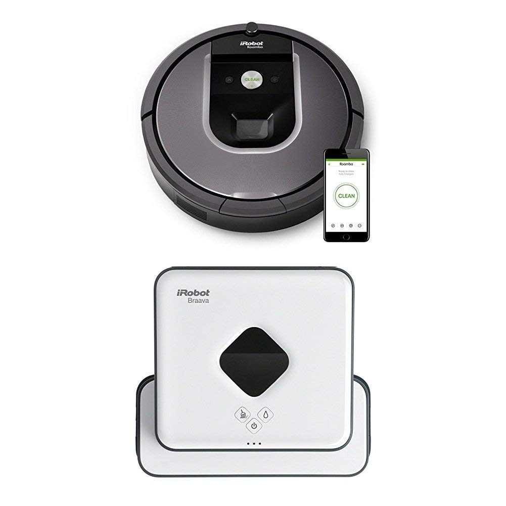 amazon angebot des tages irobot roomba 960 saugroboter. Black Bedroom Furniture Sets. Home Design Ideas