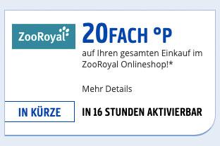Zooroyal Gutschein 20
